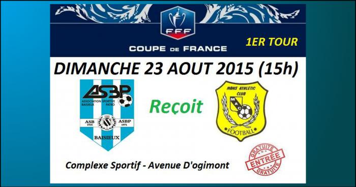 Match de coupe de france 1er tour baisieux mons baisieux - Coupe de france 1er tour ...